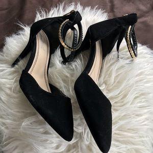 Anne Michelle Black High Heel Shoe